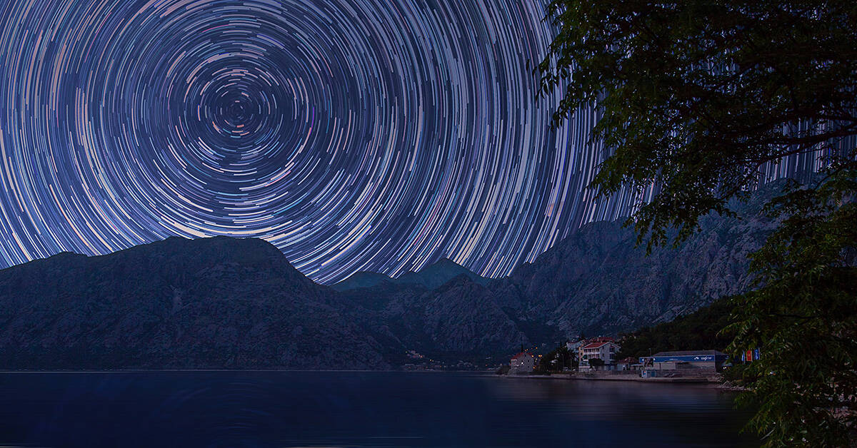 How To Photograph Star Trails – We Show How Easy It Can Be To Capture Your First Star Trail Photo