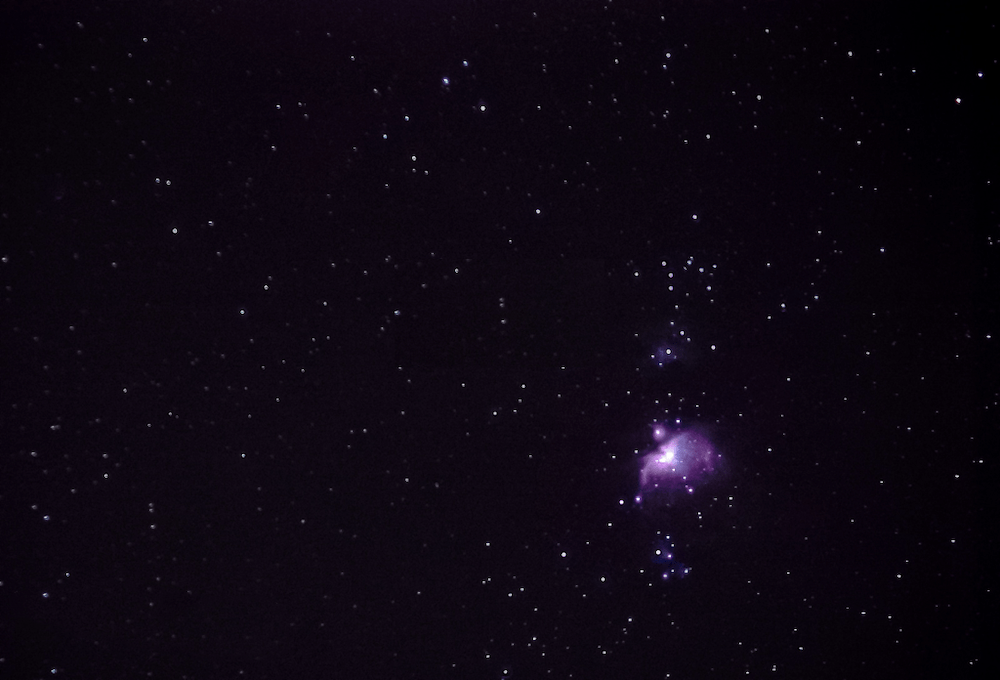 astrophotography image of M42