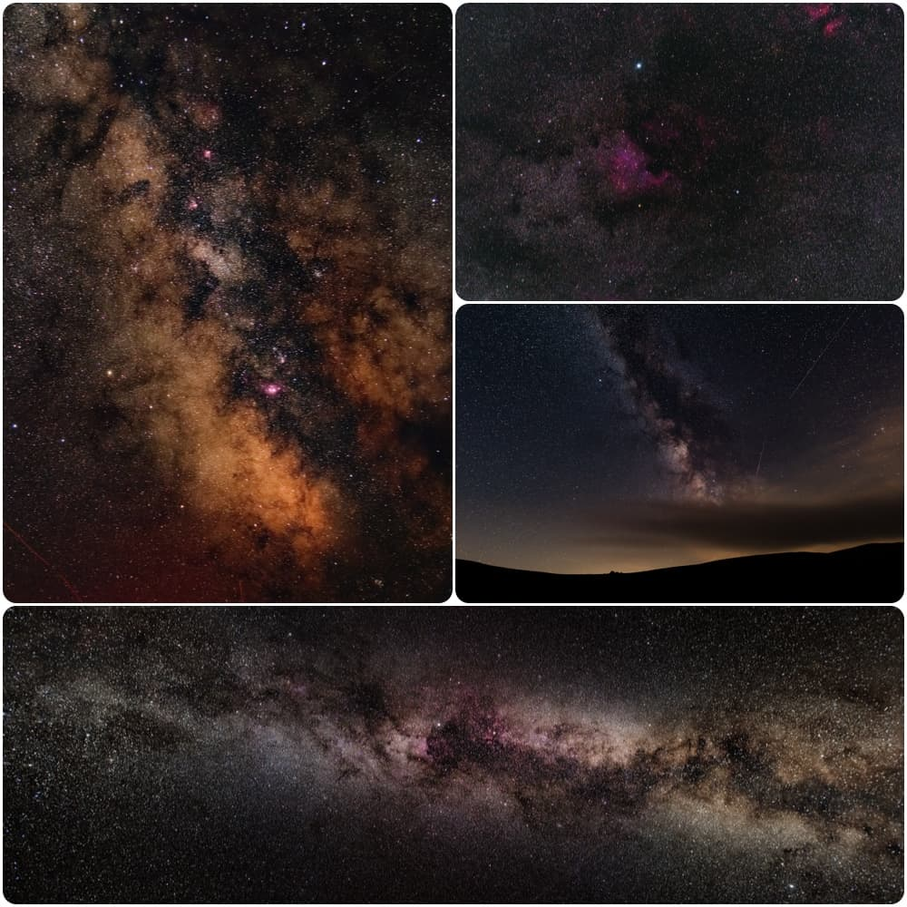 deep sky images with the star adventurer mini