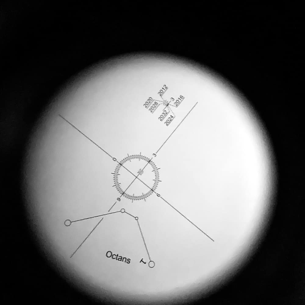 polar scope view