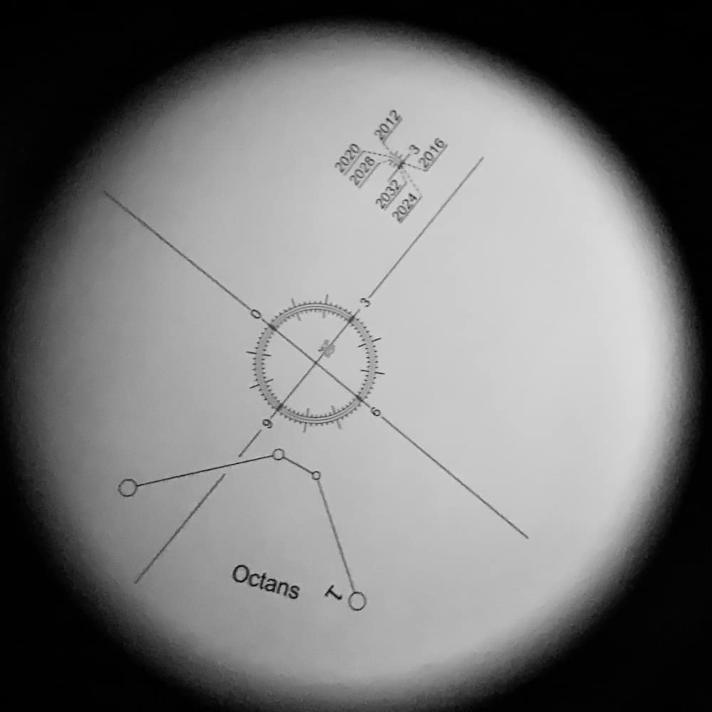 Reticle inside the Polar Scope
