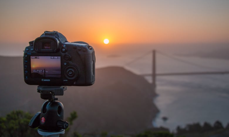using a canon for timelapse videos