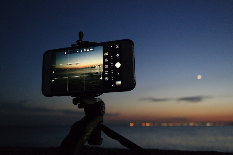 using a iphone for time lapse photography