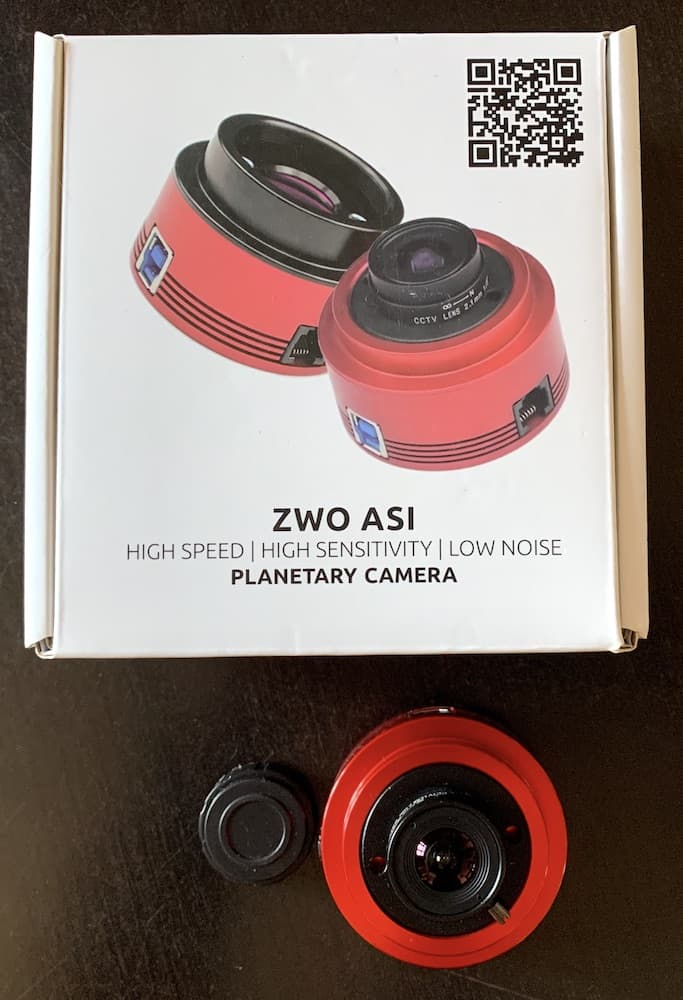 ZWO ASI224MC planetary camera