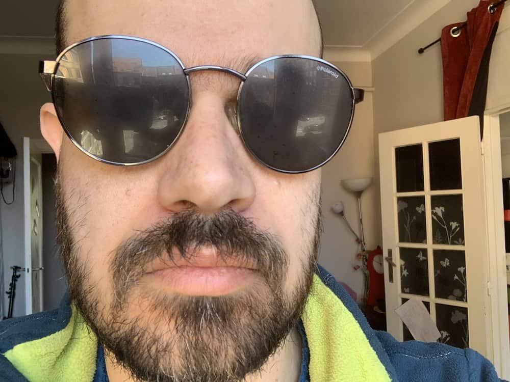 fogged up glasses
