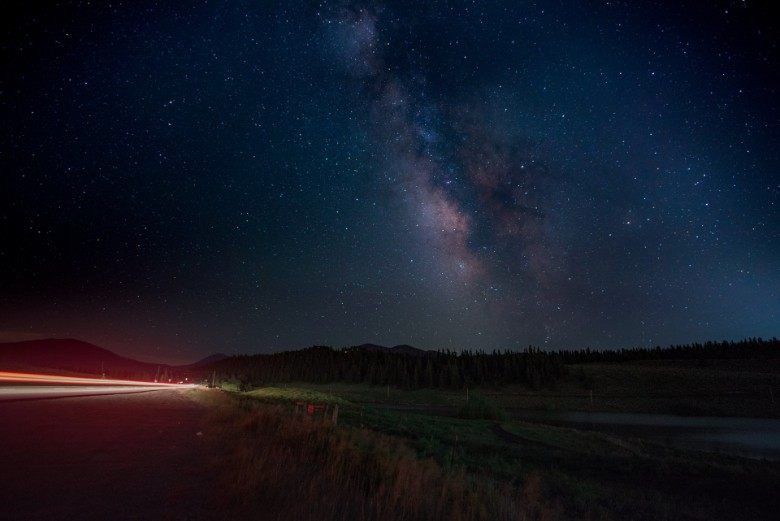 use the right camera for milky way time lapse video