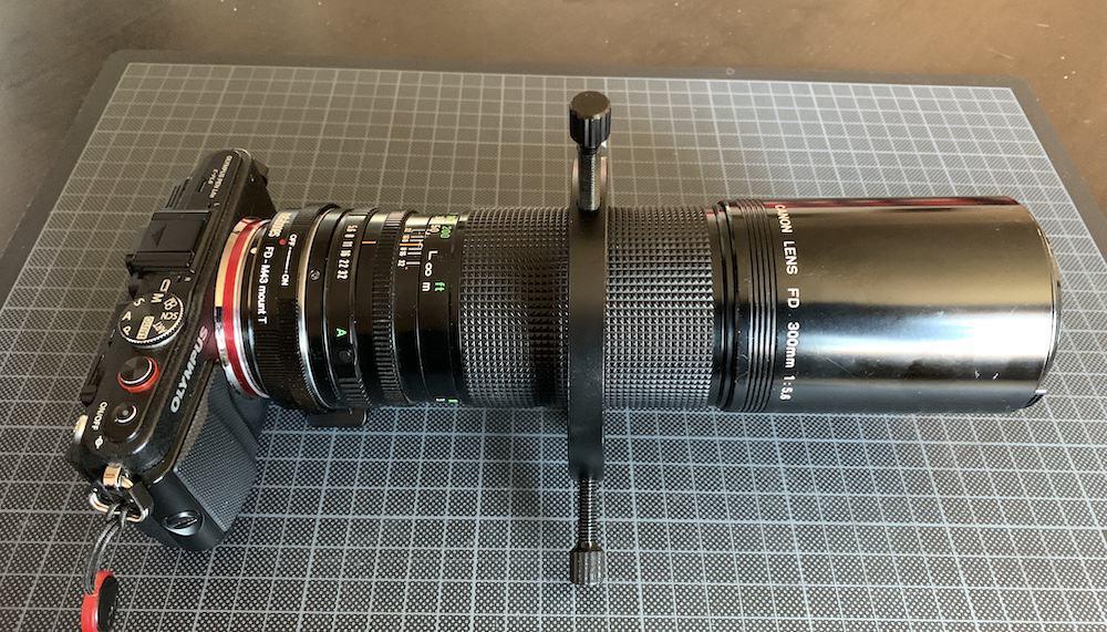 DIY focusing tube ring