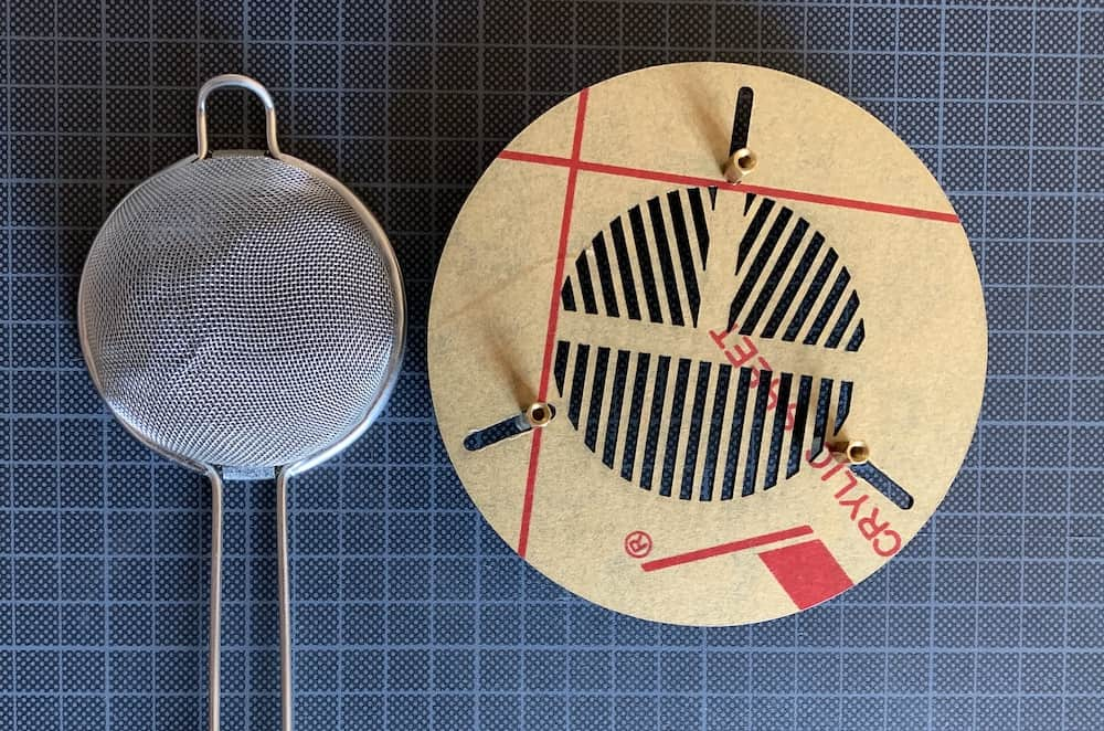 use a kitchen sieve as a Bahtinov Mask