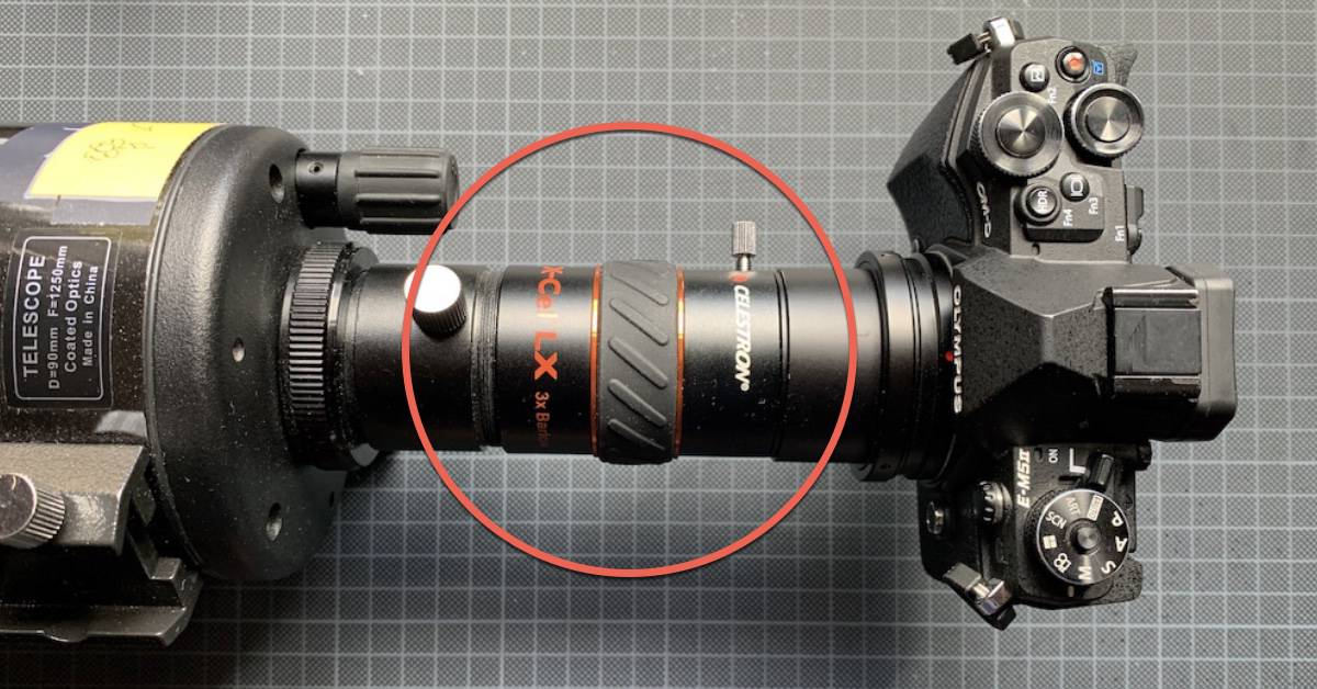 how to use a barlow lens