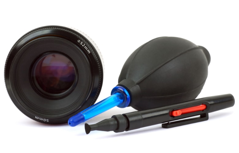 lens cleaning kits for canon, nikon and sony