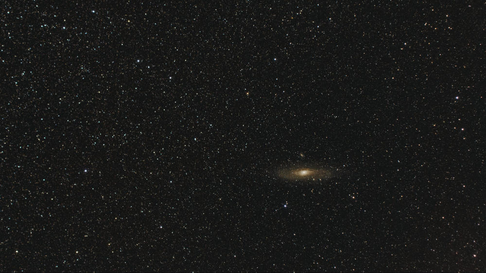 Andromeda Galaxy shot with Sony RX10