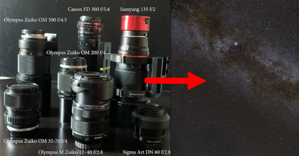 Zoom vs Prime lenses for shooting night sky