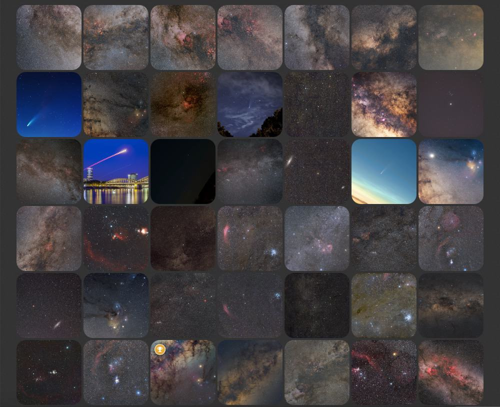 astrobin images taken with a Canon EF 50 f:1.8 STM lens