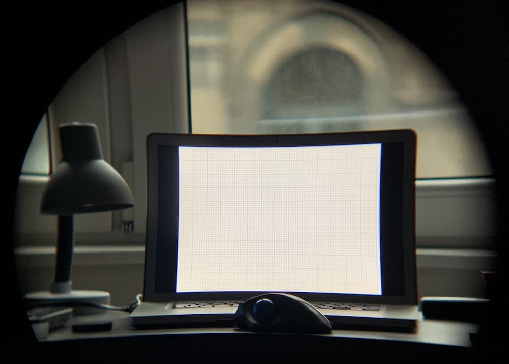 ZWO Miniscope 30-F4 showing strong field curvature and chromatic aberration