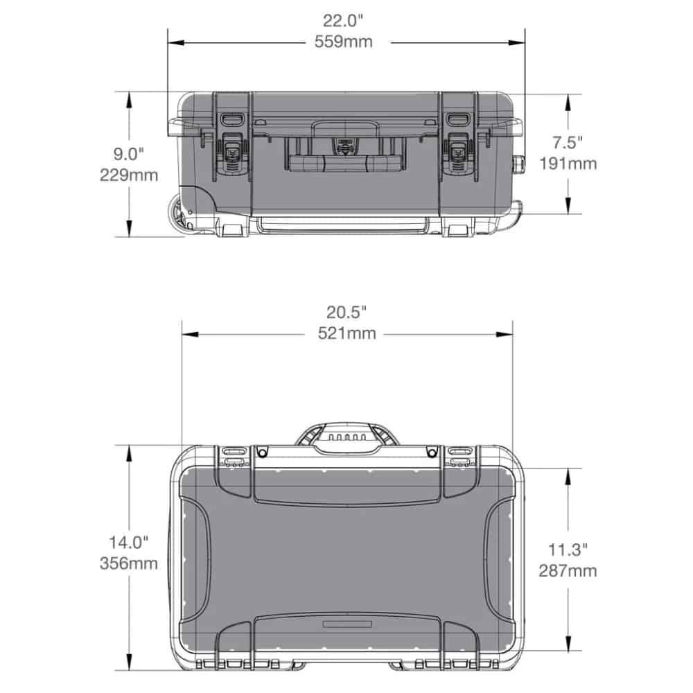 nanuk 935 size dimensions