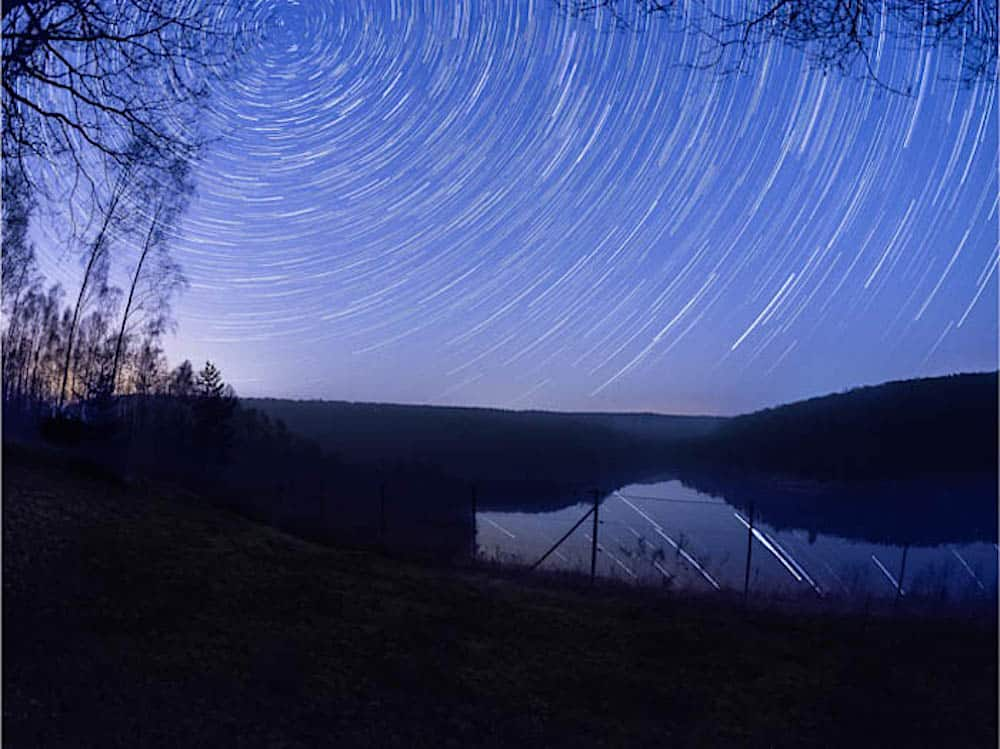 nice star trails but poor foreground