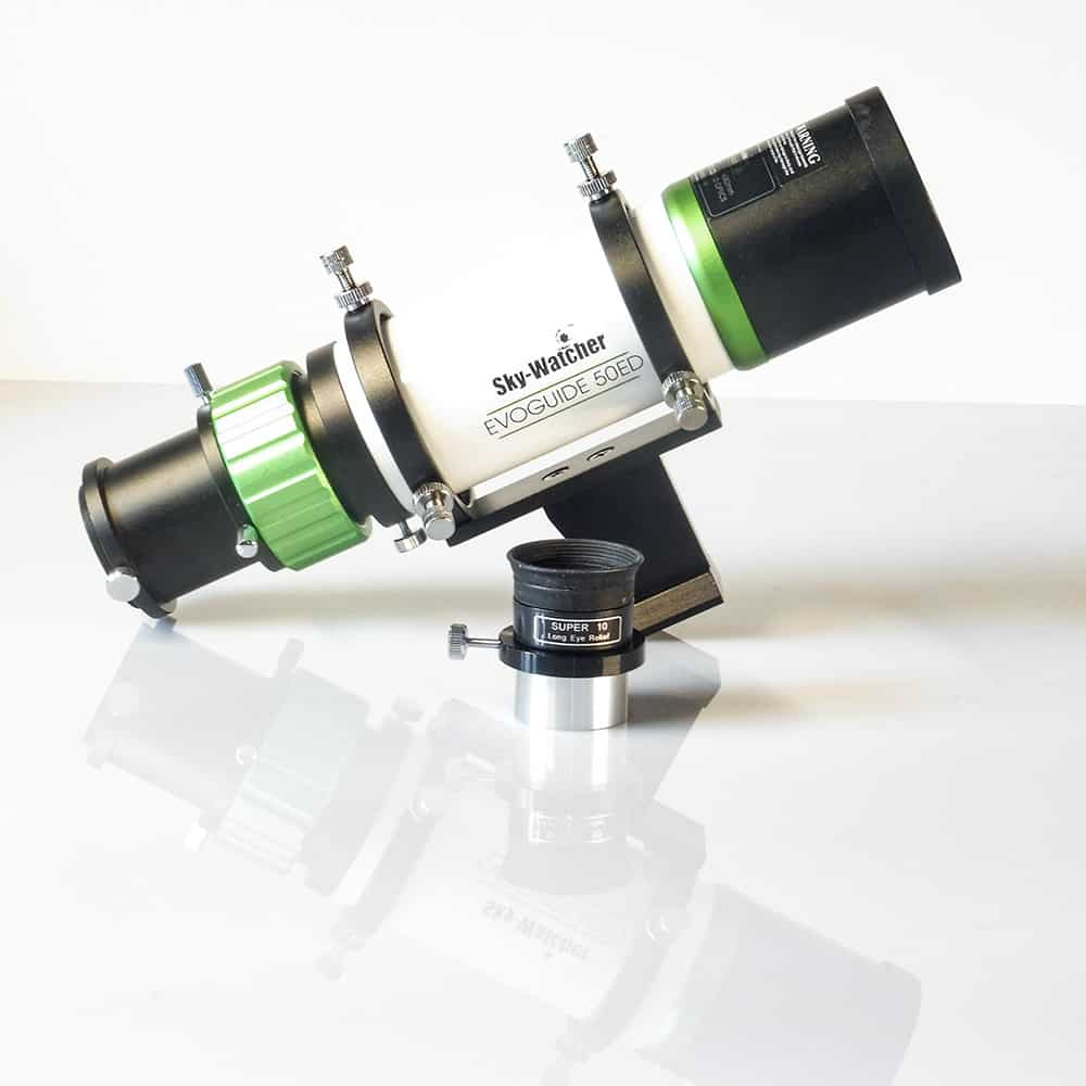 skywatcher Evoguide 50ed can be used as a spotting scope