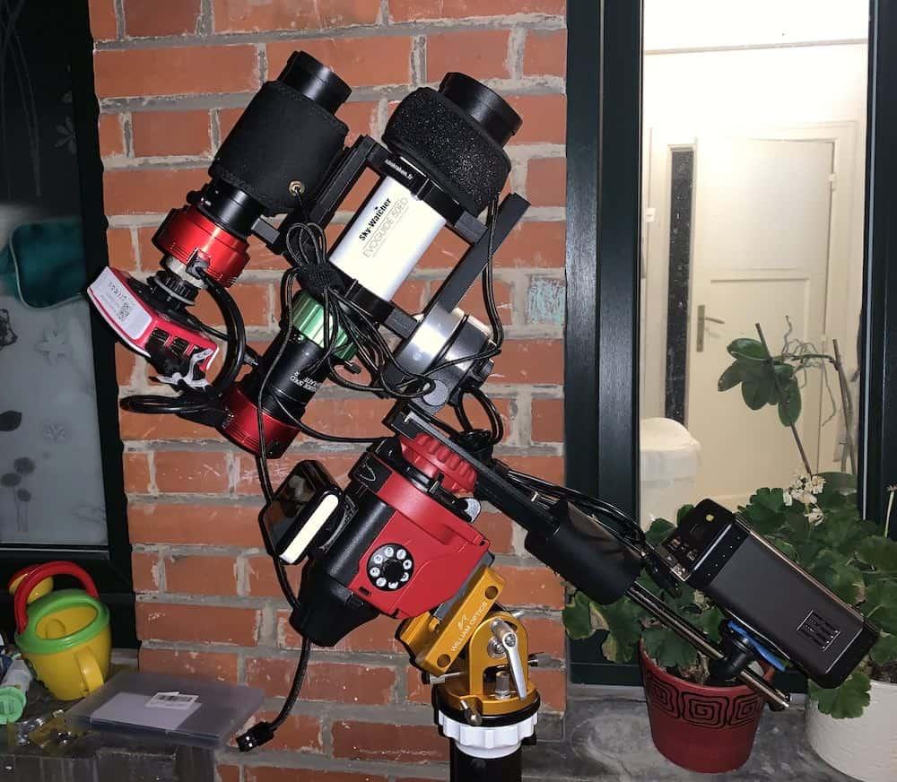 ultimate deep sky astrophotography setup with star adventurer pro