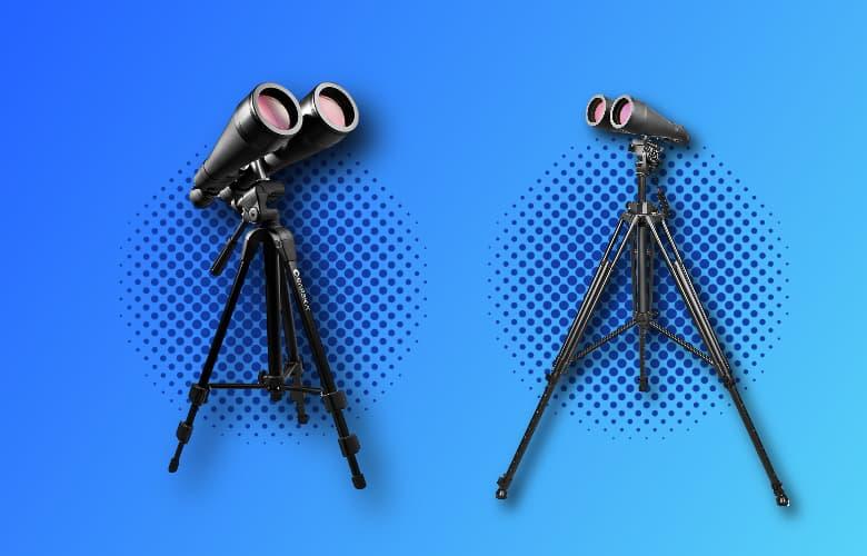 astronomy binoculars on tripod