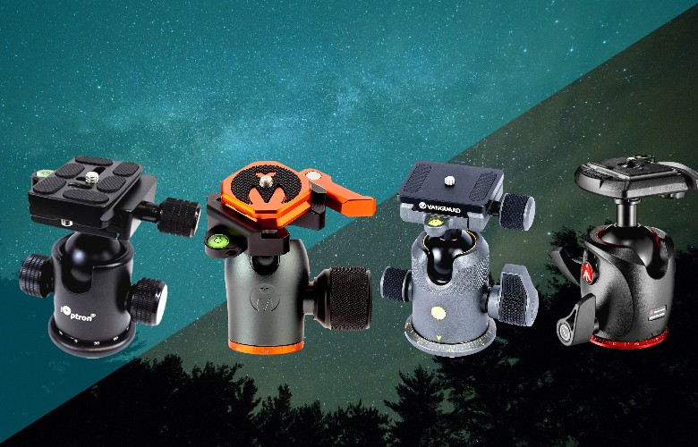 tripod ball heads for photography