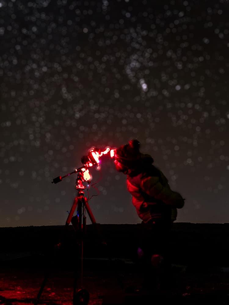 Bokeh from stars