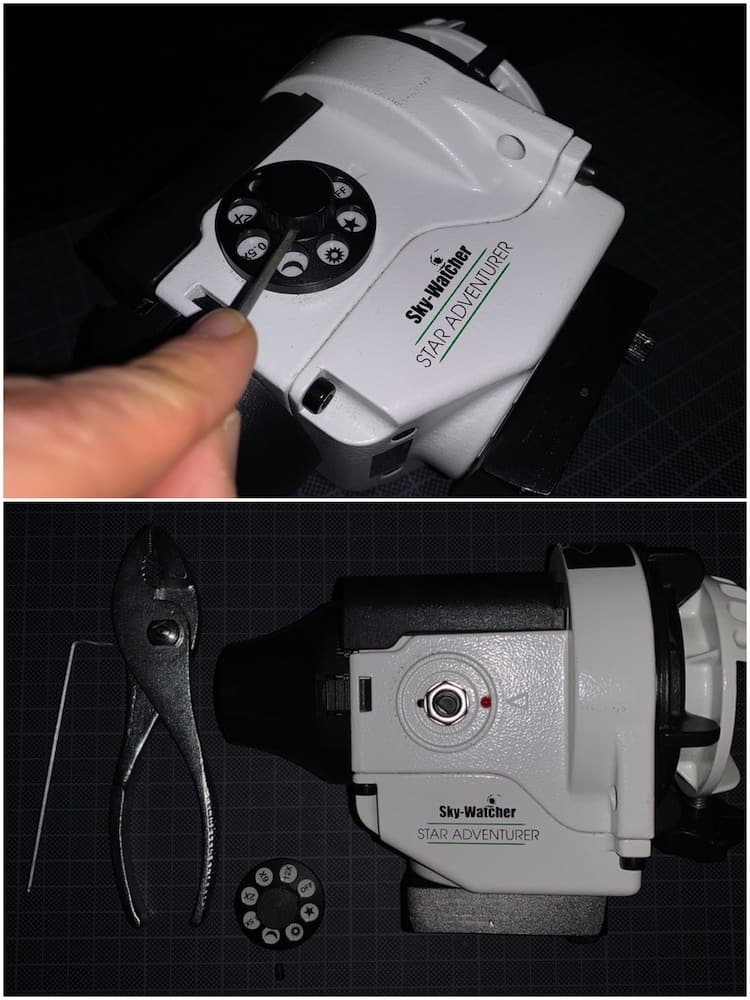 Fixing the loose mode dial