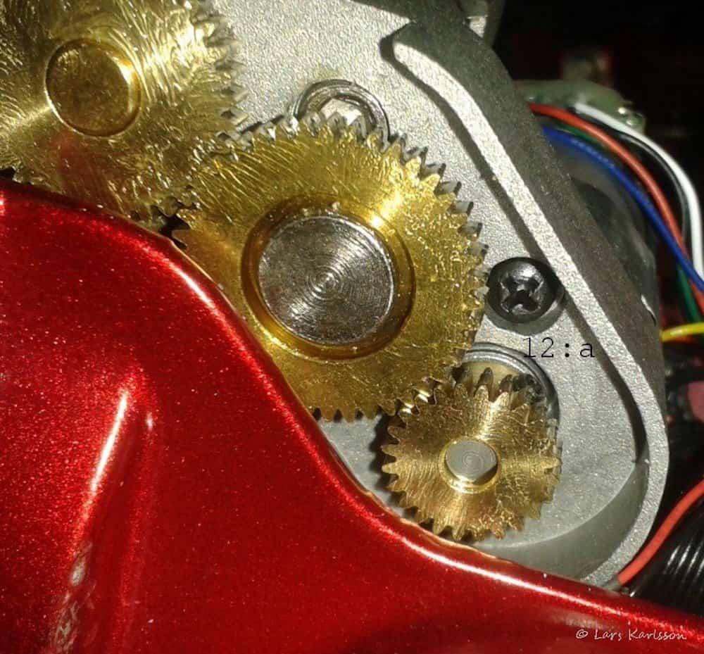 Star Adventurer gearbox