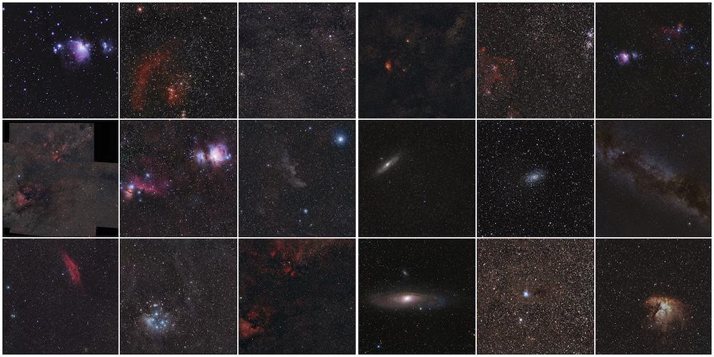 deep sky astrophotography taken with the Star Adventurer