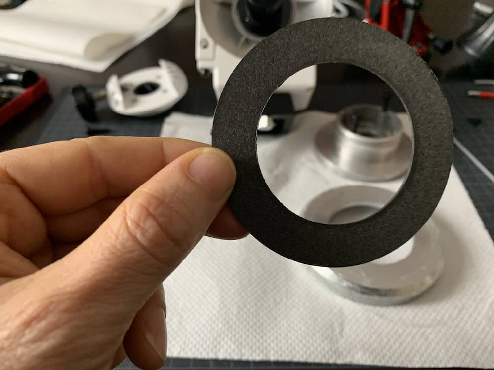 disc of friction material