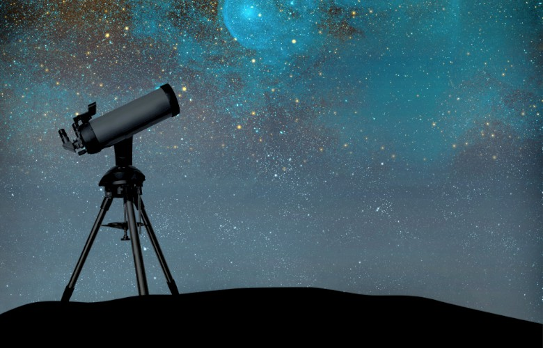 using a telescope at home