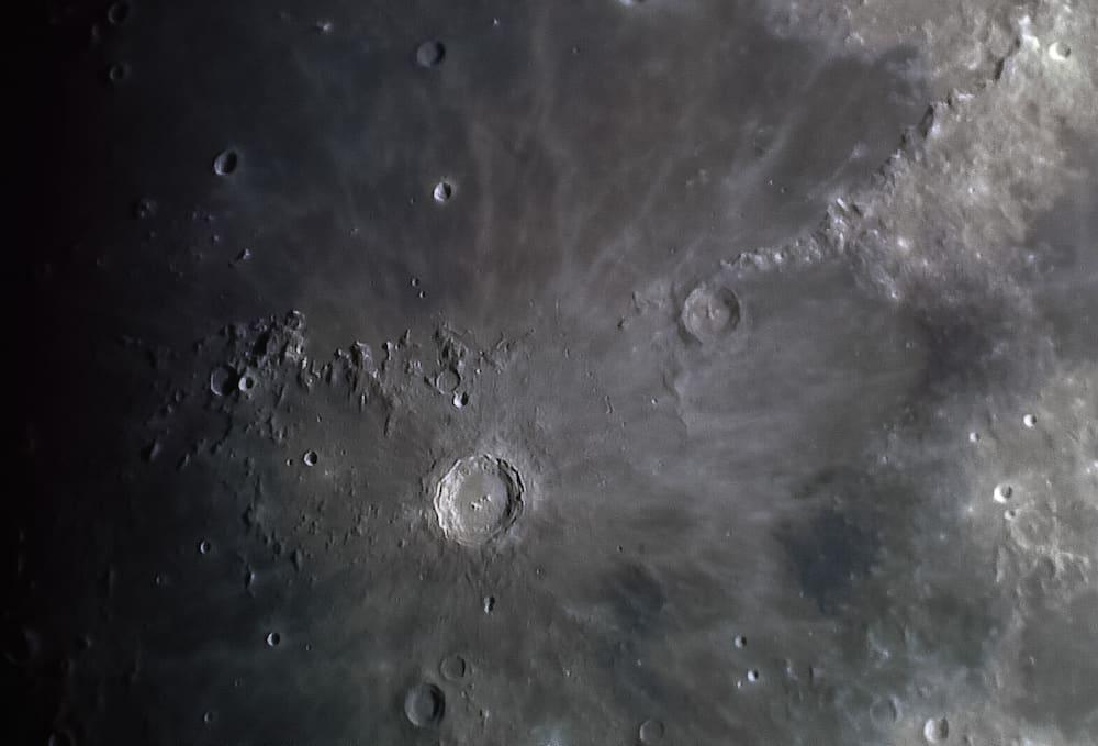 Copernicus moon crater