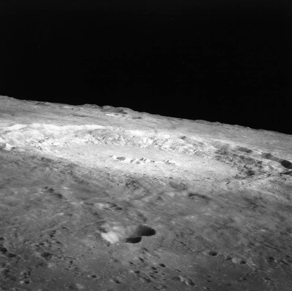 Copernicus photographed from lunar orbit