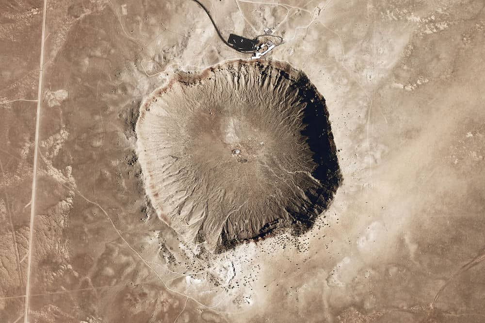 Meteor Crater in Arizona USA