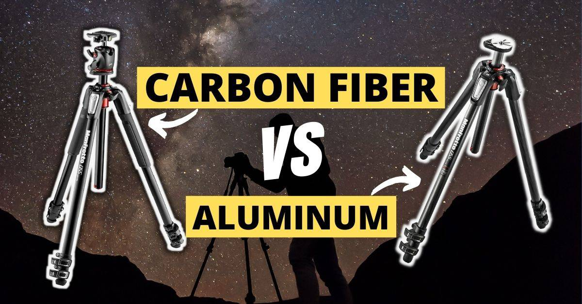 Choosing between Aluminum or Carbon Fiber Tripod