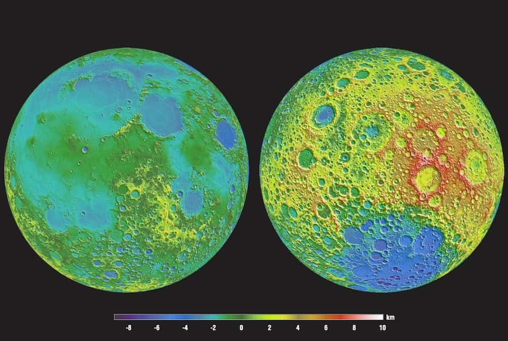 Moon Photography from the LRO probe