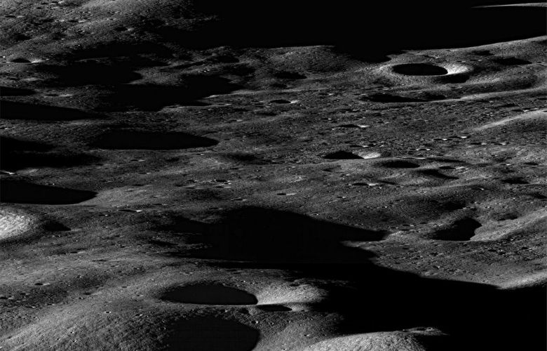 Moon's outer surface