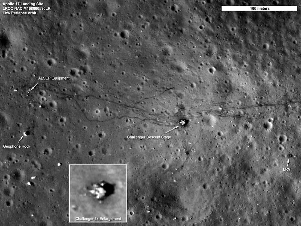 The Apollo 17 Landing Site