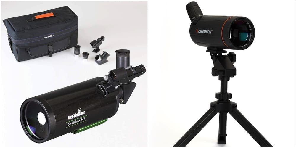 The Sky-Watcher Skymax 901250 and the Celestron C70