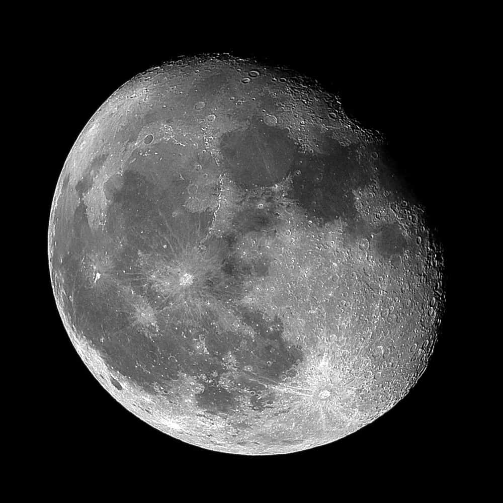 This Moon was taken with Olympus Zuiko OM 200 f4