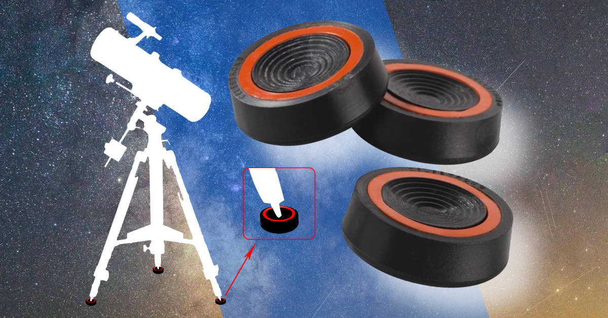 Vibration Suppression Pads for Tripod