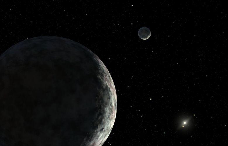 Eris, a dwarf planet