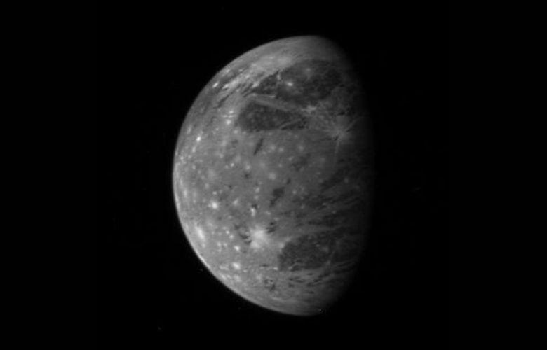Ganymede, Jupiter's moon