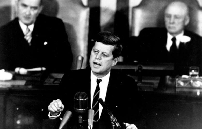 John Kennedy's Goal of landing on the moon