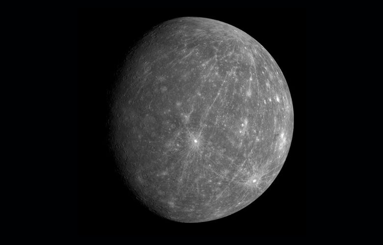 Mercury, 1st Planet from the Sun