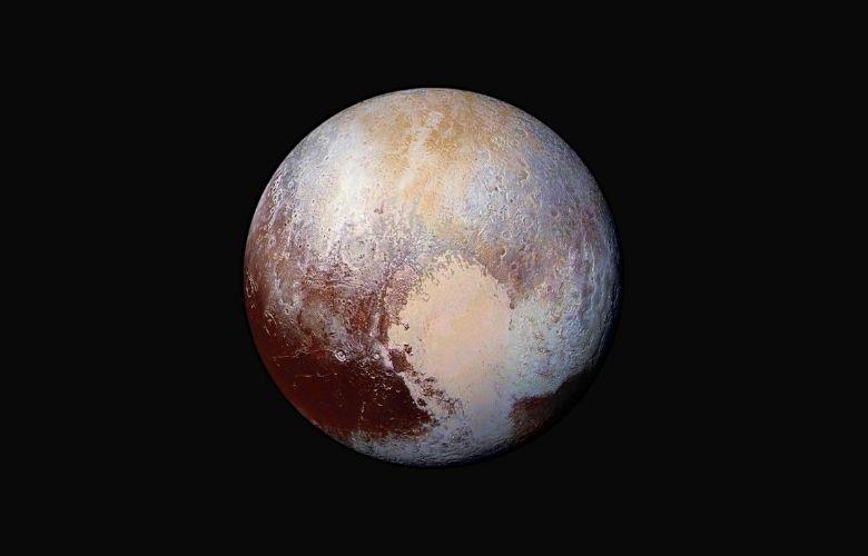 Pluto, a dwarf planet