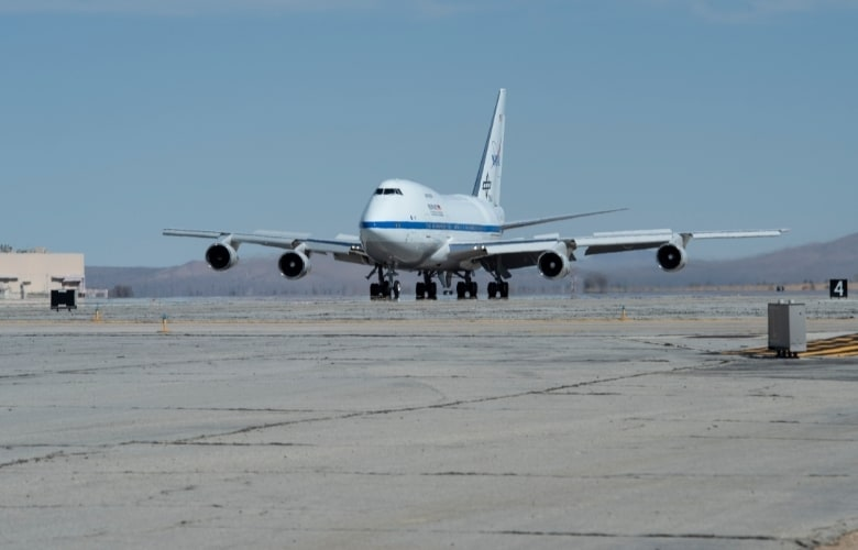 SOFIA Returns to NASA's Armstrong Flight Research Center