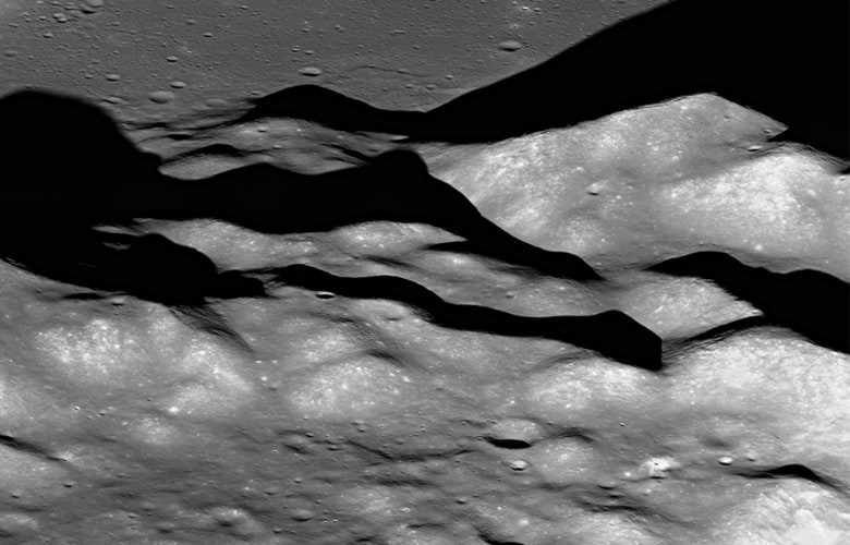 Apollo mission planners selected an adventurous landing site for Apollo 15 located on a relatively small patch of lava plains