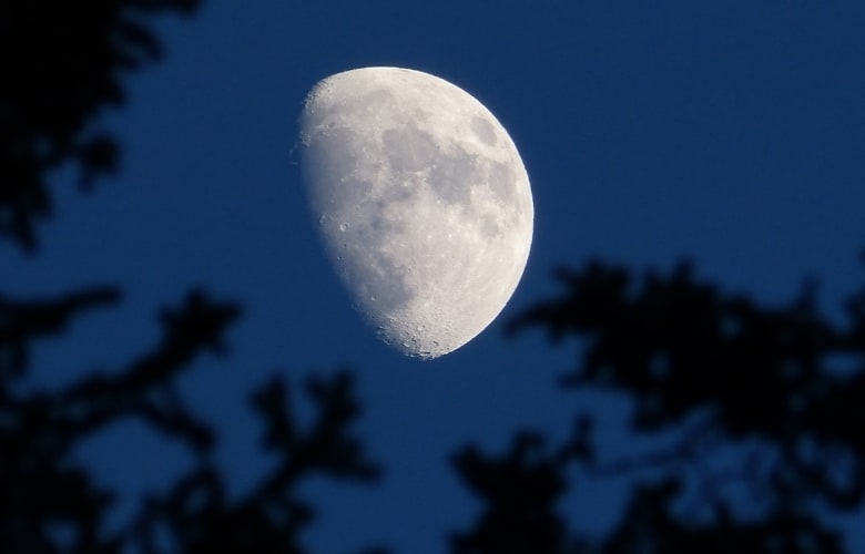 How Much Of The Moon Is Always Lit