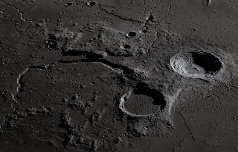The Moon's Aristarchus Plateau