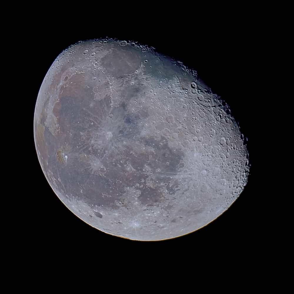 Waning Gibbous Moon (84% illumination).